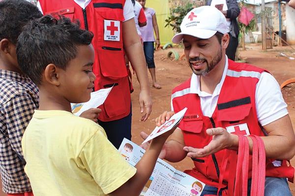 Cruz Vermelha também aposta em ações de educação e prevenção